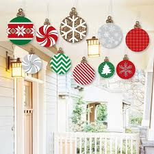 hanging ornaments outdoor porch tree yard
