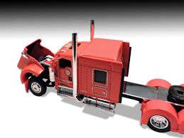 kenworth tractor trailer dcp 33543 1 64 detroit radiator show truck kenworth w900l 72