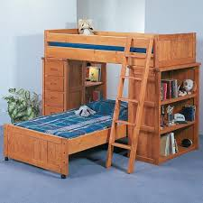 Modular Bunk Beds Trendwood Bunkhouse Roundup Modular Loft Bed With Shelf