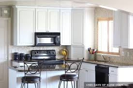 photos of painted cabinets painting kitchen cabinets before after