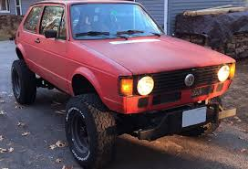 wide jeep for sale 1982 rabbit on a jeep 4 4 chassis with a chevy v8
