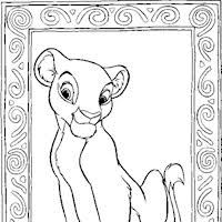 nala coloring pages lion king coloring pages print lion king pictures to color all