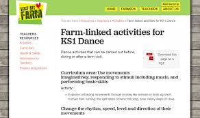 farm linked activities for ks1 dance teaching resources