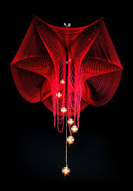 fuschia chandelier atelier innovation interior decoration llc