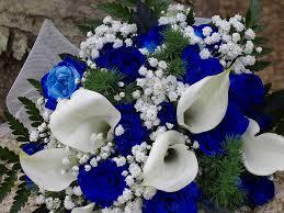 blue wedding flowers flowers bouquet blue