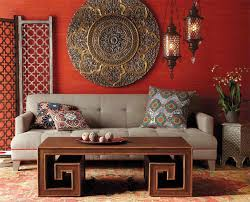 Metal Circle Wall Decor Gorgeous 22 Living Rooms With Metal Wall