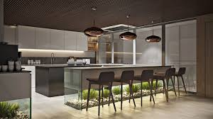 Kitchen Office by Office Kitchen Design Rendering In Chocolate Hues Archicgi