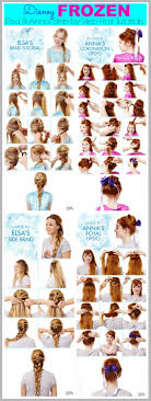 anna from frozen hairstyle how to do anna frozen hair google search hair pinterest