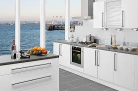 White Modern Kitchen Pueblosinfronterasus - Modern kitchen white cabinets