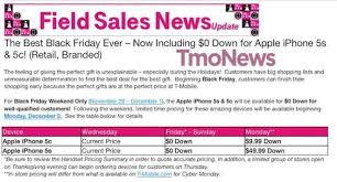 best black friday deals on mobiles t mobile black friday deals 0 down for iphone 5s and 5c this