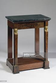 Mahogany Console Table Little Empire Style Mahogany Console Table With Dark Marble Top