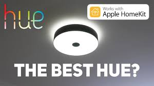 philips hue ceiling light philips fair hue smart ceiling l review the best hue youtube
