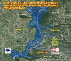 Memphis Map River Flood Maps