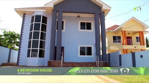 east legon 4 bedrooms house with a very large compound youtube
