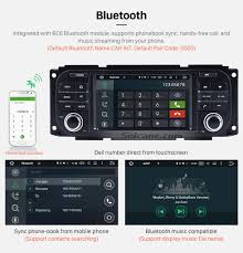 android 6 0 radio hd touchscreen for 1999 2004 jeep grand cherokee