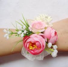 pink corsages for prom 2015 new pink purple chagne 6pcs lot bridesmaid wrist corsage
