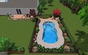 Backyard Leisure Pools by 3d Swimming Pool Designs For Fiberglass Pools Signature