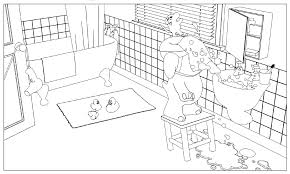 bathroom coloring pages getcoloringpages com