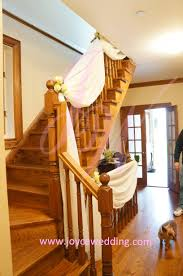 stair drapery for at home wedding decoration joyce 3 loversiq