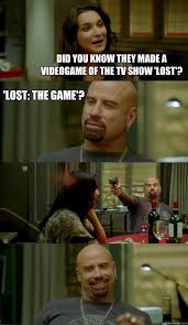 Lost Memes Tv - did you know they made a videogame of the tv show lost lost