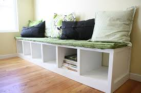 Kitchen Nook Bench by Furniture Diy Breakfast Nook Bench With Open Storage Plus Accent