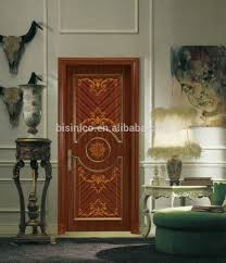 European Style by European Style Lacquer Finished Timber Wood Door Panel Antique