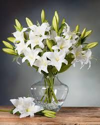 casablanca lilies casablanca silk flower stems for arranging at petals