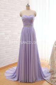 bridesmaid dresses lavender strapless sweetheart criss cross lavender chiffon