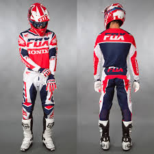 fox motocross gear combos fox motocross u0026 enduro mx combo fox 180 honda red maciag offroad