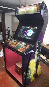 Xbox Arcade Cabinet My New Killer Instinct Arcade Cabinet Artwork U0026 Videos