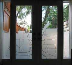 custom graphics cut in frost on residential door window graphics custom graphics cut in frost on residential door