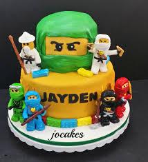 ninjago cake cake and cookies for 6 year jocakes