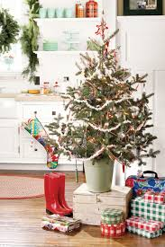 inspiration small decorative trees for mantle