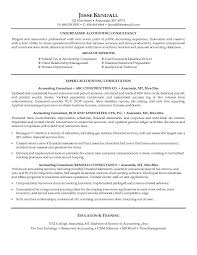 Sample Resume For Accounting Staff by Consultant Resume Template Consulting Resume Sample