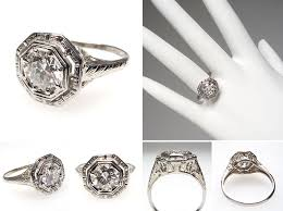 vintage and antique engagement rings from eragem chic vintage brides