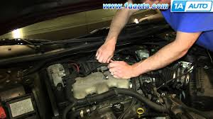 Gm Map Sensor How To Install Replace Map Manifold Absolute Pressure Sensor 3 4l