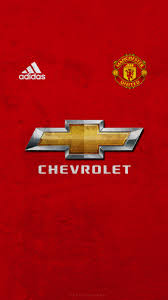 logo chevrolet wallpaper manchester united 2017 18 home phone wallpaper v1 by jgfx designs