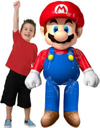 balloon delivery mario bros airwaker helium filled balloon delivered