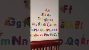 Letter Wall Decals For Nursery by Animal Alphabet Wall Decals Fun And Educational Letters For