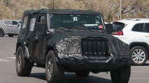 jeep wrangler 2018 2018 jeep wrangler spy photos motor1 com photos