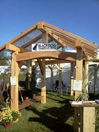 Timber Frame Pergola by Timber Frame Pergolas Timber Frame Porches U0026 Pavilions Custom