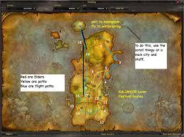 kalimdor map the elder title guide