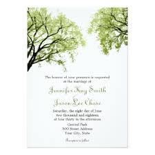 tree wedding invitations tree invitations passionative co
