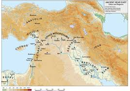 Map Of Ancient Middle East by What Is Near Eastern Archaeology The International Association