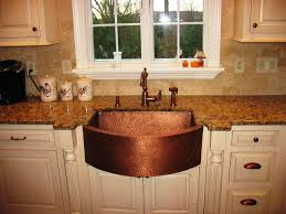 Kitchen Kitchen Sink Protector Hammered Copper Apron Sink Kraus by Copper Apron Sink When And How To Add A Copper Farmhouse Sink To A