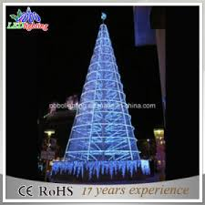 china 20ft giant outdoor led lighted christmas tree light china