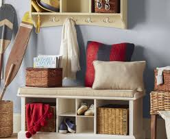 game changer indoor benches with cushions tags upholstered