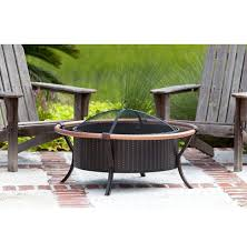 patio fire pit wood burning outdoor fireplace grill bowl backyard