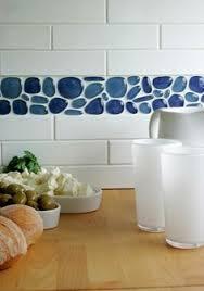 Recycled Glass Backsplash Tile by Close Up Of Backsplash Rachel Reider Interior Designs Kitchens