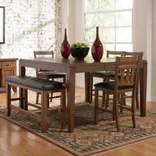 counter height dining table with bench walmart dining room sets narrow counter height table counter height